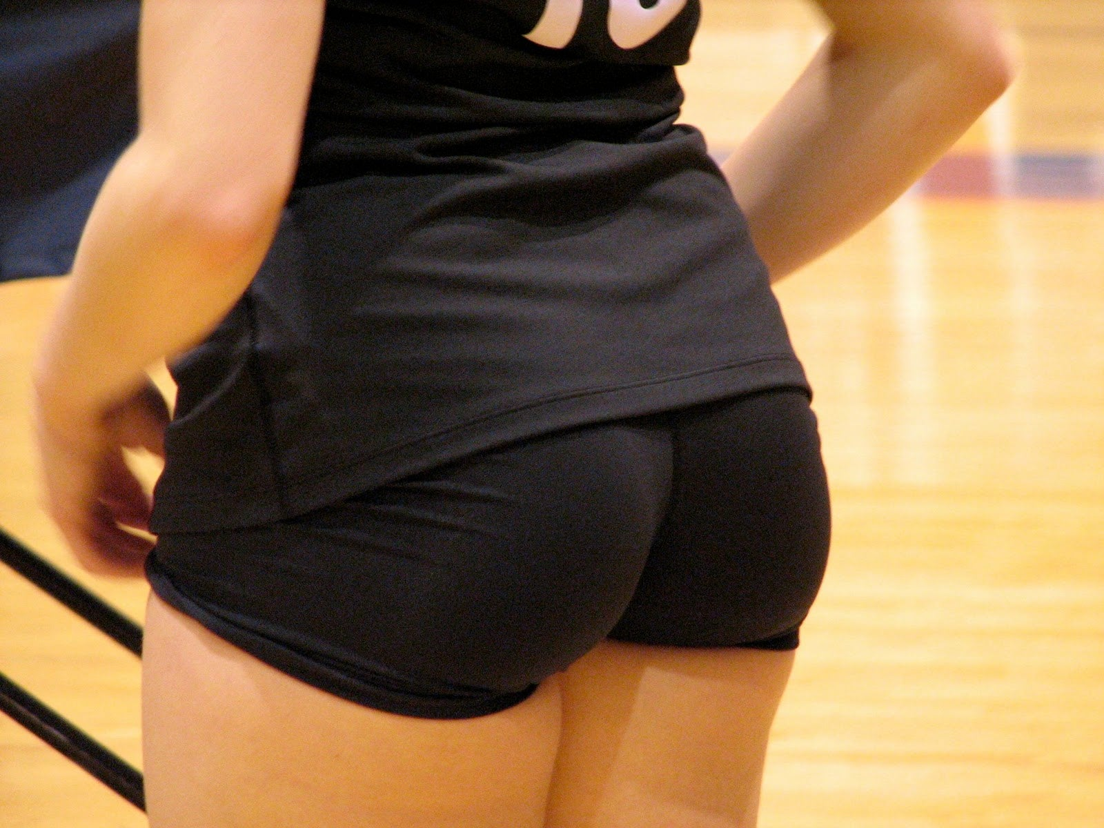 Tight volleyball shorts naked
