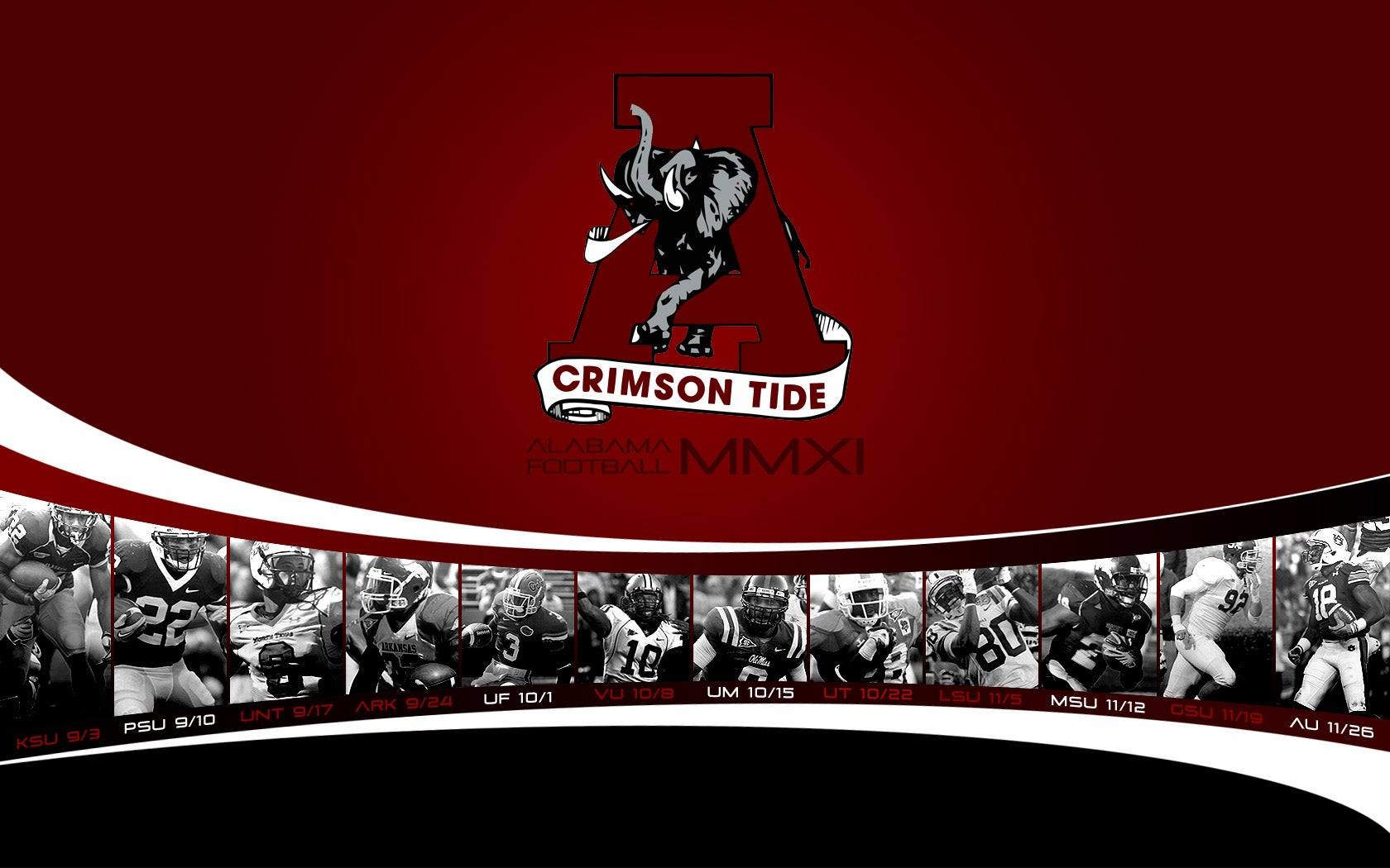 2012 Schedule Wallpapers added 42712