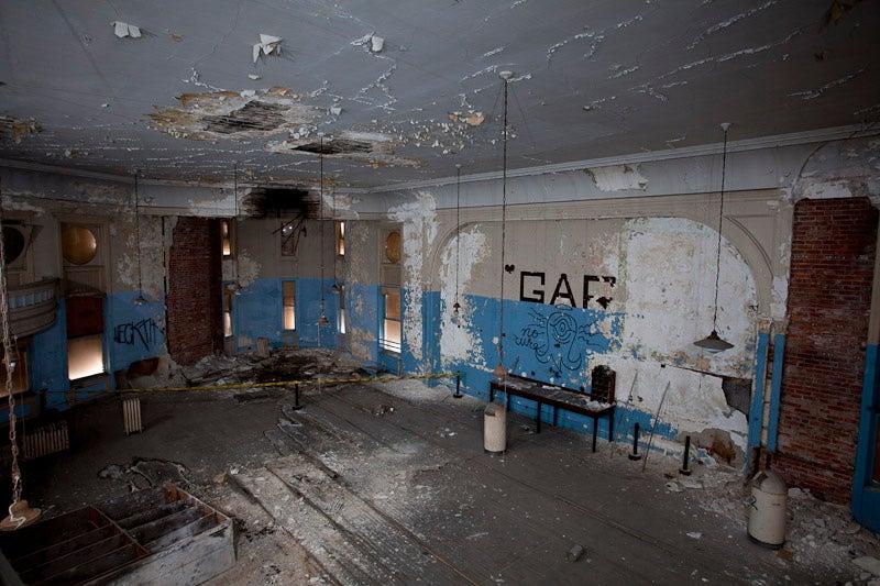 Inside room of the GAR Building