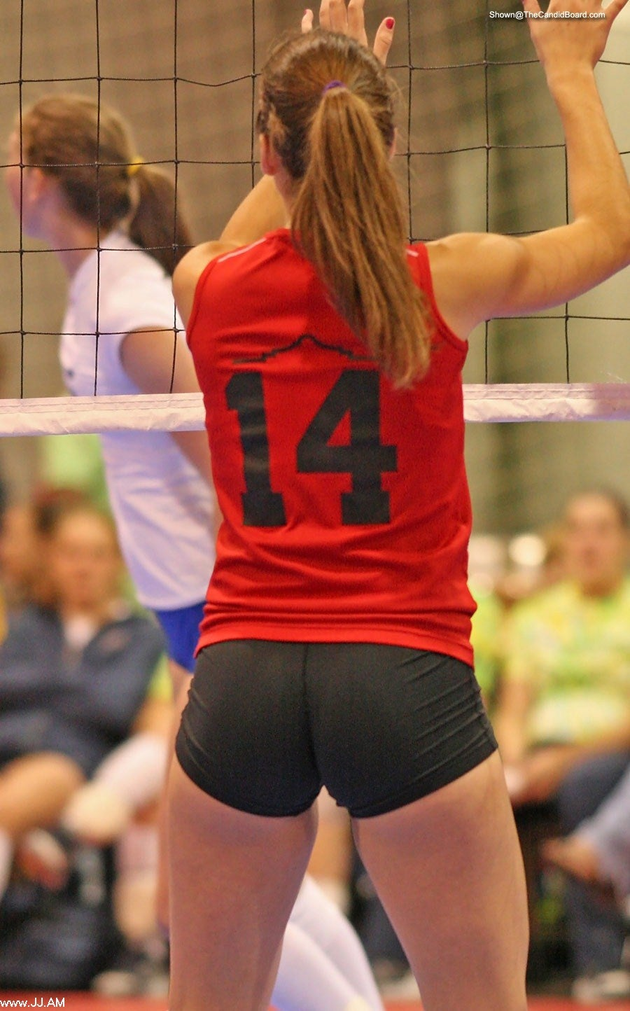 """The inventor of volleyball """"shorts""""."""