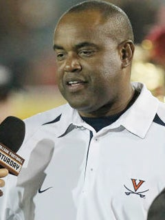 Mike London Will Look For Improved Play On Saturday Photo Courtesy Of UVa Media Relations