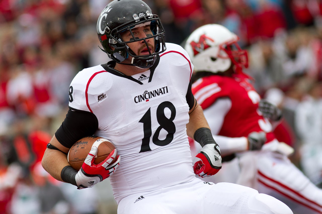 the latest 0062a 79d97 Travis Kelce, Cincinnati, Tight End