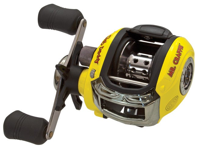 Icast 2014 lew 39 s for Crappie fishing reels