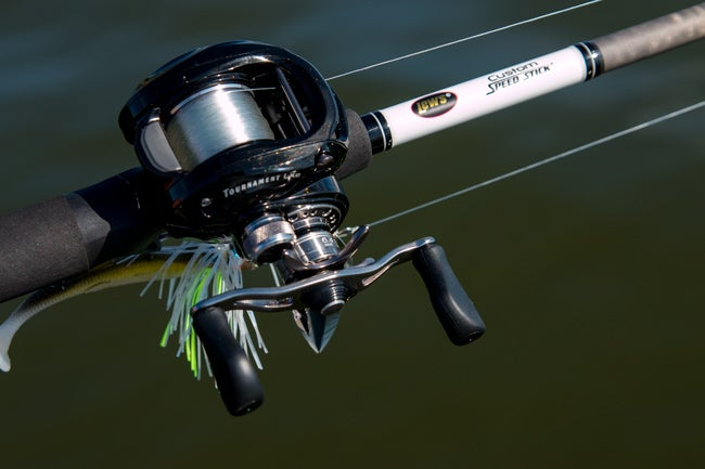 Lew 39 s custom speed stick rods review for Lews fishing apparel