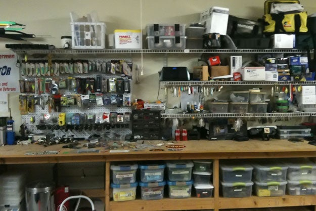 Stocking an Angler's Man Cave