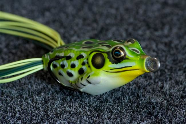 Mini frog market expands topwater frog fishing for Top water frogs bass fishing