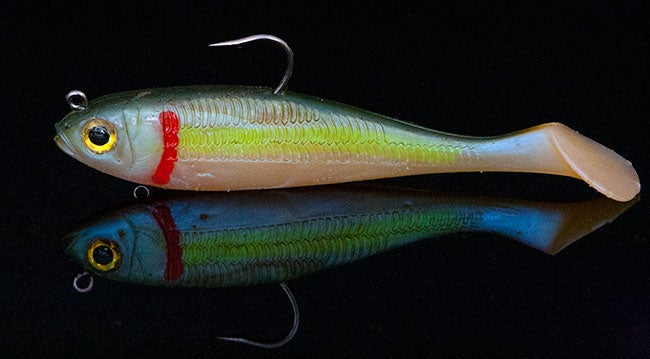 Sexy up your bass fishing swimbaits for Wired 2 fish