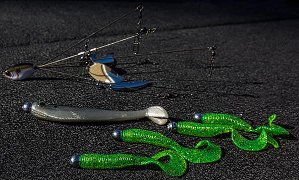 Choosing the right swimbait for bass umbrella rigs for Bass fishing rig